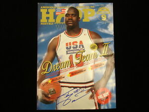 Shaquille O'Neal Autographed September 1994 Hoop Monthly Japanese Magazine