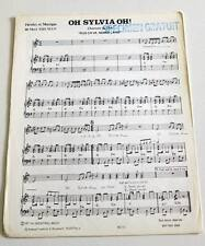 Partition sheet music MORT SHUMAN : Oh Sylvia Oh ! * 70's PROMO