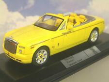 IXO Rolls Royce Phantom Drophead Coupe Yellow Car Model MOC164P 1 43