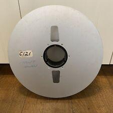 Ampex 35CM Magnetic video mastering Reel to Reel tape Ex Cinema Reel Aluminium
