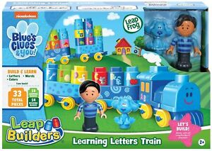 LeapFrog Blue's Blues Clues and You! Learning Letters Building Blocks Train