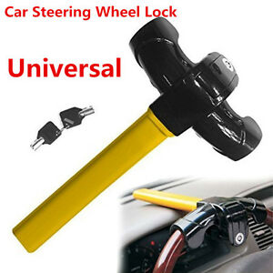 Heavy Duty Security Device Car Steering Wheel Security Lock Anti Theft Lock&Keys