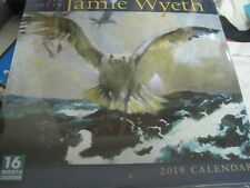2019 the Art of Jamie Wyeth 16-Month Wall Calendar : By Sellers Publishing