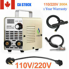 MMA ARC Welder Inverter 110V 220V Handheld 200A IGBT Sticking Welding Machine DC