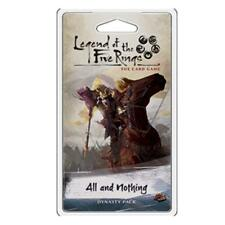 All And Nothing Dynasty Pack Legend Of The Five Rings Card Game L5C13