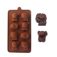 New 3D Mold Animal Fondant Chocolate Decor Mould DIY Baking Silicone Cake Tools