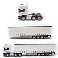 Cararama Scania 1:50 Cab Trailer Diecast Topline Tractor Unit White Oxford CR026