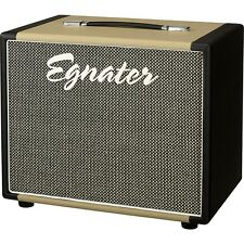 Egnater Rebel 112X 1x12 Guitar Extension Cabinet Black and Beige LN