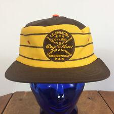 Rare Vintage 70s 80s Ray Kroc Mcdonalds Birthday Baseball Snapback Hat Cap