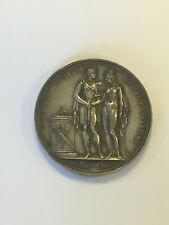 Médaille Napolèon Empereur et Marie Louise D'Autriche MDCCCX - 1810 - ARGENT