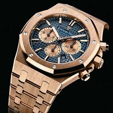 Audemars Piguet Royal Oak Chronograph Rose Gold 41mm Blue 26331OR.OO.1220OR.01