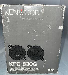 NOS Kenwood 30 Watt Front Dash Speakers KFC-830G