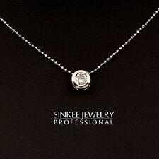 Simply 7Mm Round Zircon Choker Necklace Brand Women Statement Necklace Xl484