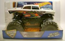 AVENGER 1957 '57 CHEVY BEL AIR MONSTER JAM TRUCK DIECAST HOT WHEELS 2016