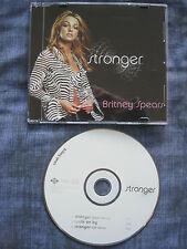 BRITNEY SPEARS - STRONGER. (CD Single). EAN: 638592515024.