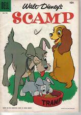 DELL Comics Walt Disney Scamp #703 1956 W: UNK A: Al Hubbard