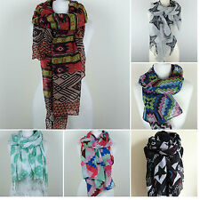 Polyester Geometric Scarf Scarves & Shawls for Women
