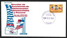Panama Airmail # C294 JFK Meets Presidents FDC - I Combine S/H