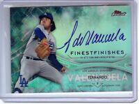 Fernando Valenzuela 2017 Topps Finest Finishes Auto Autograph Dodgers #FV