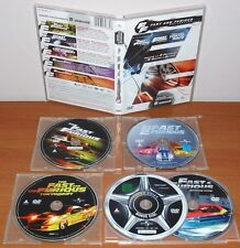 The Fast and The Furious (A todo Gas), 2 Fast 2 Furious, Tokyo Drift [5 DVD's]