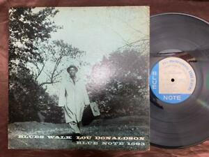 LOU DONALDSON BLUES WALK BLUE NOTE INC BLP 1593 MONO RVG 9M US  LP