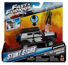Fast & Furious FCG31 Stunt Stars Tej & Jeep Wrangler Rubicon Toy Vehicle
