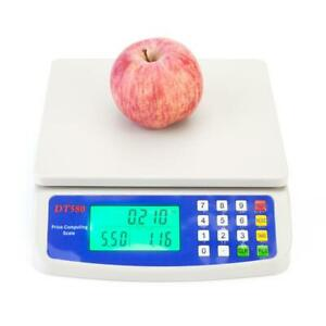 Electronic Digital Weight 66LB 30kg *1g Price Computing Food Meat Kitchen Scale