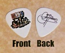 KISS band logo GENE SIMMONS signature END OF THE ROAD guitar pick  - (W)