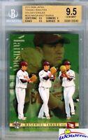2012 BBM Japan #E85 Masahiro Tanaka BGS 9.5 GEM Yankees 175 Million-Cy Young?