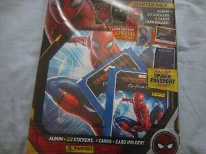 Panini stickers spiderman far from home new album