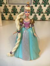 Hallmark Keepsake Rapunzel Barbie 1 Children's Series Tree Ornament In Box