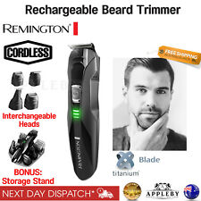 Remington Beard Trimmer Cordless Shaver Electric Mens Hair Clipper Rechargeable