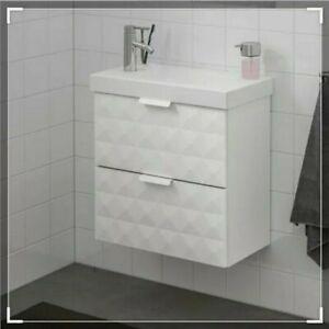 ✔ IKEA Godmorgon weiß Badezimmer Waschbeckenschrank 3D Neu Ovp 303.909.60