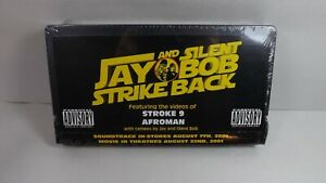 RARE Promo Jay and Silent Bob Strike Back VHS 2001 Sealed Feat. Afroman Stroke 9