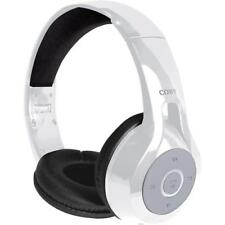 Coby CHBT-610-WHT Replay Stereo Over-The-Ear Bluetooth Headphones
