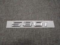 Chrome Trunk Number Letters Rear Emblem Emblems Badge Decal Sticker for BMW 530i
