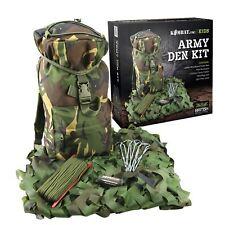 Authentic Kombat UK Kids Army Den Kit - Army Cadet Camo Play Set