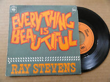 "DISQUE 45T  DE  RAY STEVENS   "" EVERYTHING IS BEAUTIFUL  """