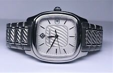 David Yurman Thoroughbred Stainless Steel Automatic Skeleton Watch T301-LST