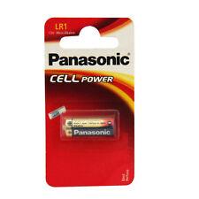 PANASONIC CELL POWER PILA ALCALINA-LR1 da 1,5 V Pacco da 5