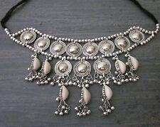 Statement Choker Necklace Collar Vintage Boho Gypsy Hippy Tribal Fashion Jewelry