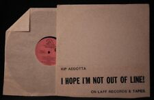 2 Kip Addotta LPS - I VG+ LAFF 1981 Records Two records included a promo lp too