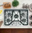 """GE Cafe Series 30"""" Built-In Gas Cooktop - CGP350SETSS photo"""