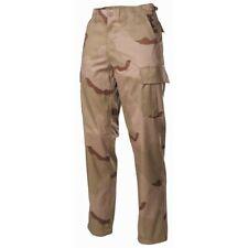 MFH Pantaloni uomo militari esercito americano caccia pesca 3 colour desert