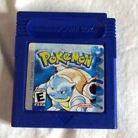 Pokemon Blue Version Nintendo Game Boy Color 1998 Tested Works Well