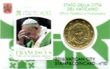 50 Cent Euro de Vatican 2016 Coincard avec Timbre (10)