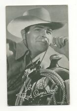 Rod Cameron 1940's 1950's Salutations Cowboy Exhibit Arcade Card