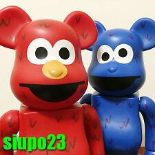 Medicom 400% Bearbrick ~ Sesame Street Be@rbrick Elmo & Cookie Monster 2p
