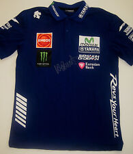 VALENTINO ROSSI SIGNED PIT CREW SHIRT - COMPANY CERTIFICATION