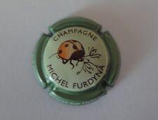 Capsule de champagne FURDYNA Michel 44g. Contour vert fluo